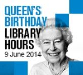 Library hours Queen's birthday holiday