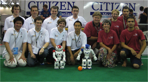NUbots 2008 Team