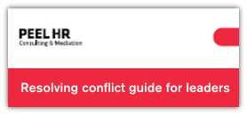 Conflict resolution guide for supervisors and managers