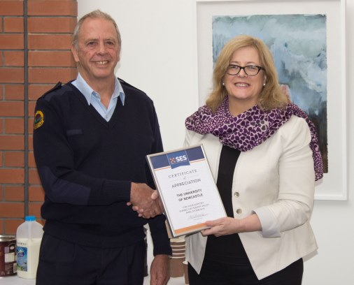 VC accepts SES certificate