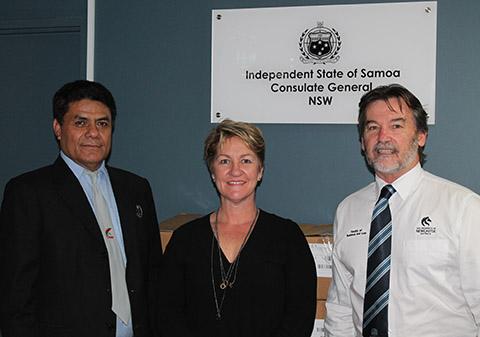 Samoa donation