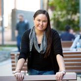 Scholarship recipient, Felicity Collis