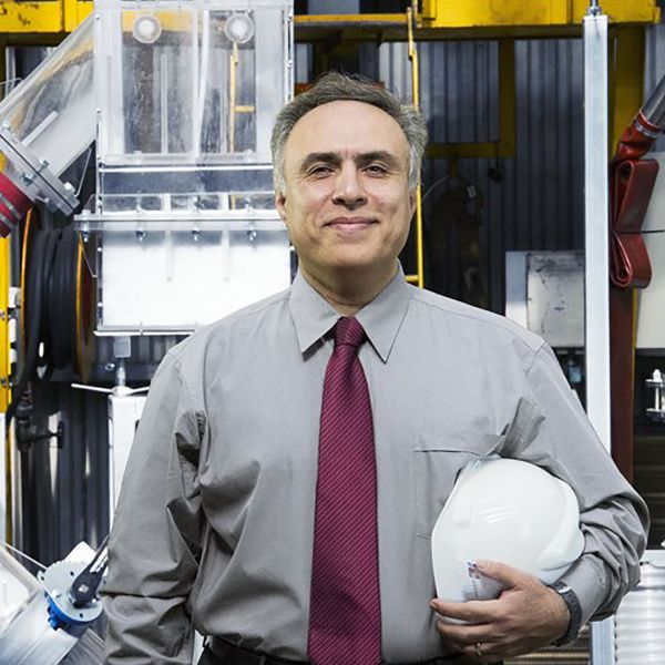 Professor Moghtaderi wins an Australian Good Design Award for the world's first VAM abatement testing facility