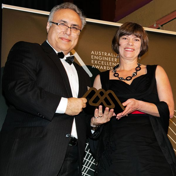 Professor Moghtaderi receives national engineering award
