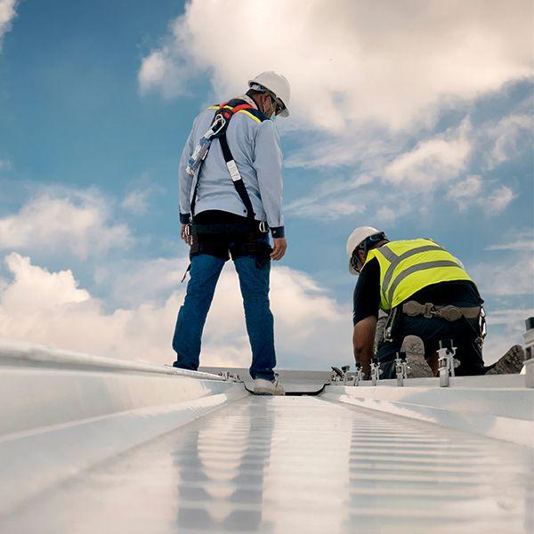 Auchmuty roof maintenance