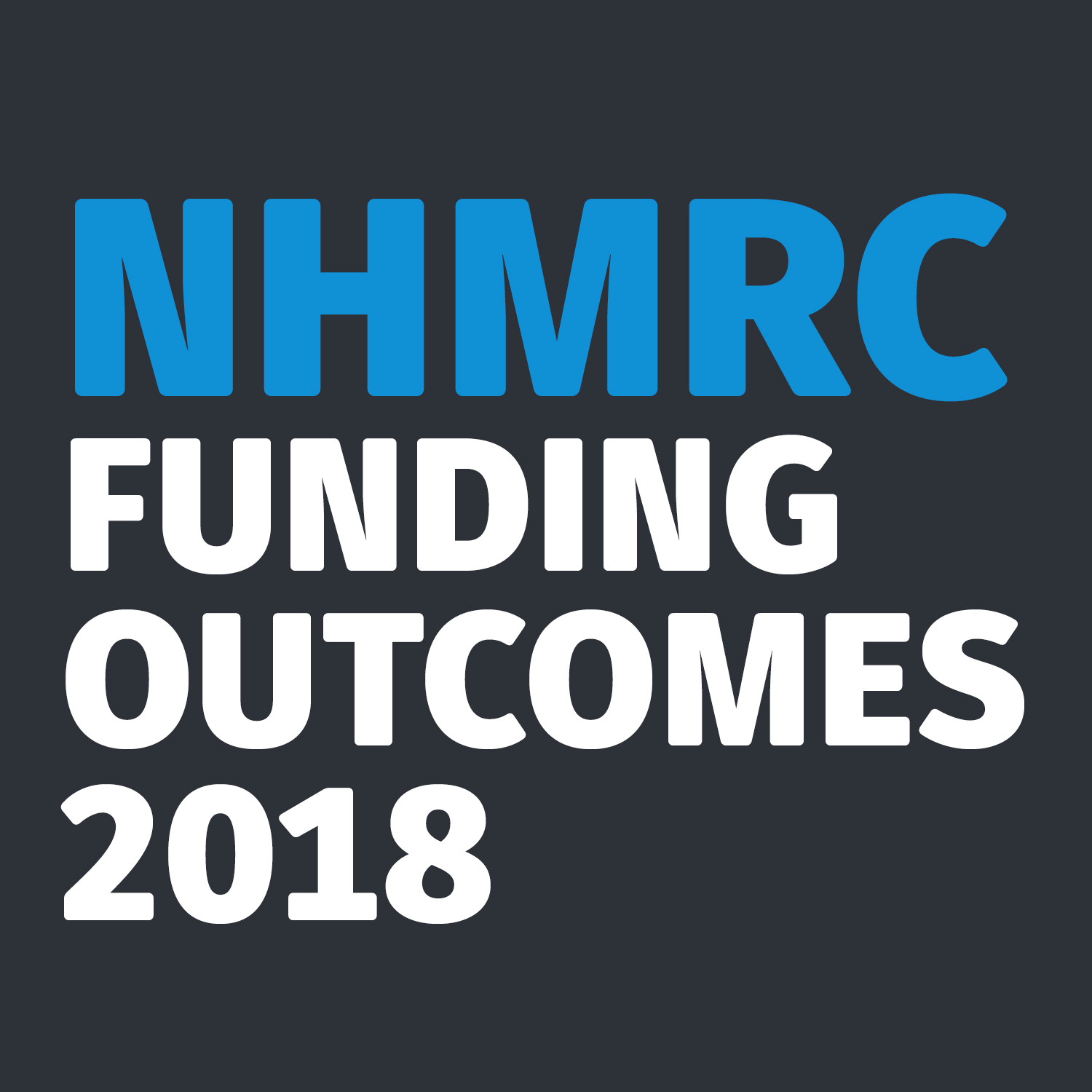 NHMRC 2018 funding outcomes