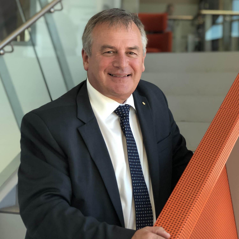 Alex Zelinsky AO - Vice-Chancellor, Professor