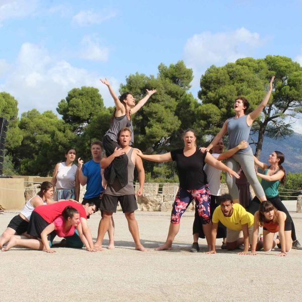Studying ancient Greek theatre in Greece: a PhD student's experiences