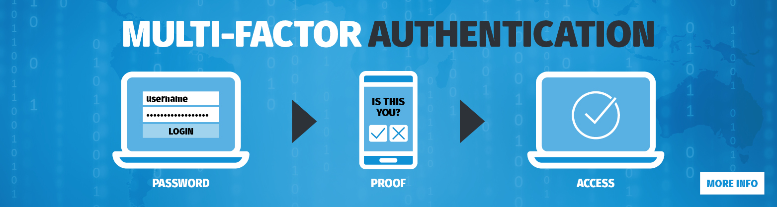 Multi Factor Authentification banner