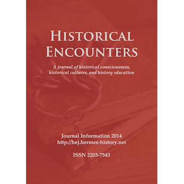 Home grown Historical Encounters journal achieves Q1 ranking