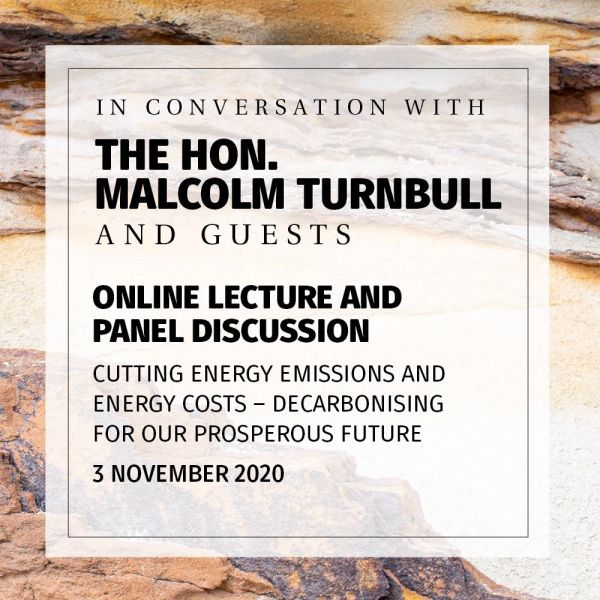 In Conversation with Malcolm Turnbull