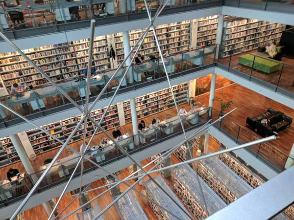 The Library at Copenhagen Business School
