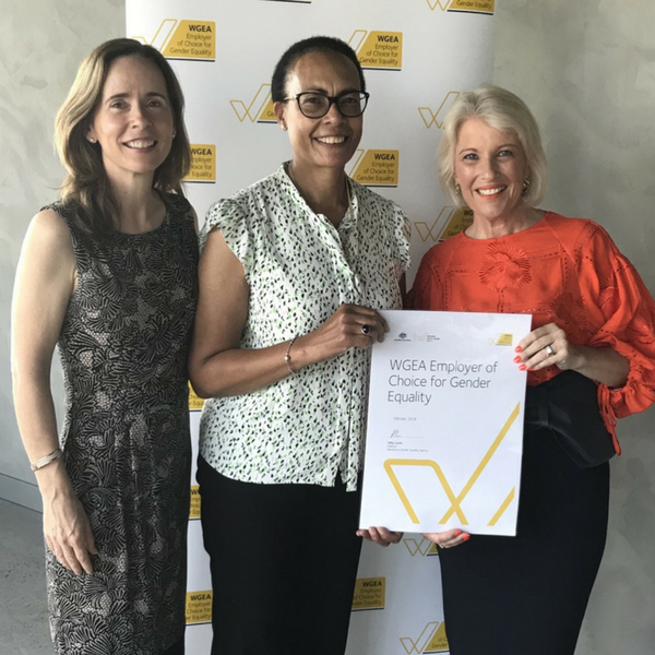 UON receives Employer of Choice for Gender Equity citation