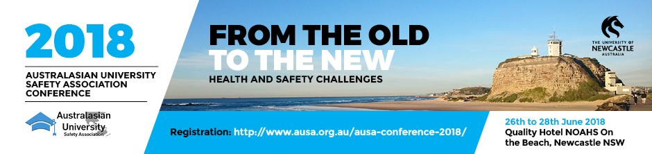 Australian Universities Safety Association Conference