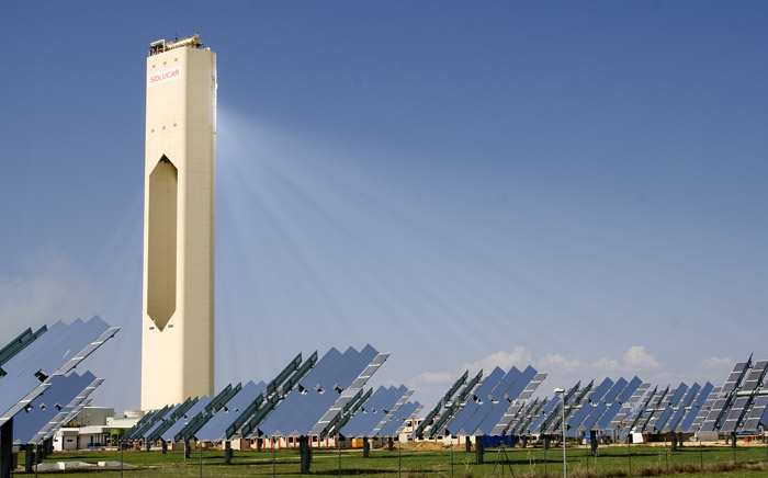 Solucar PS10 Concentrated Solar Power. (c) afloresm
