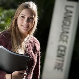 Modern Language student