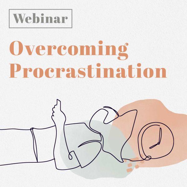 Overcoming procrastination webinar