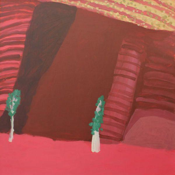 Neridah Stockley, Summer I, 2012. Oil on hardboard, 50 x 50cm