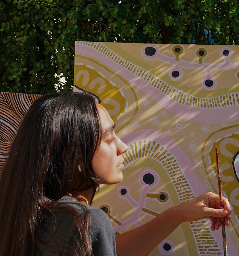 Jasmine Craciun's meaningful artwork 'Yapa'