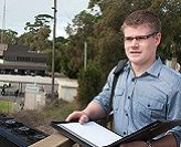 Bachelor of Business (Honours) student Daniel Frost
