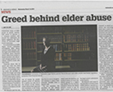 Parliamentary Inquiry into Elder Abuse