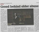 Parliamentary Inquiry into Elder Abuse