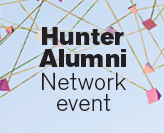 Hunter Alumni Network event graphic