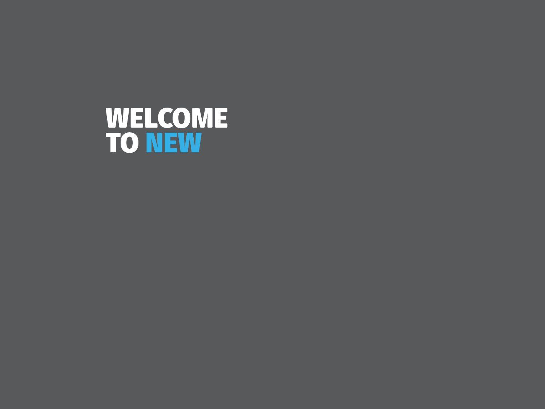 The world needs new