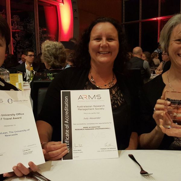 Research commitment awarded by ARMS