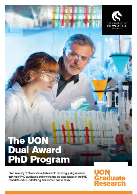 Pamphlet on the UON Dual Award PhD Program - English Language