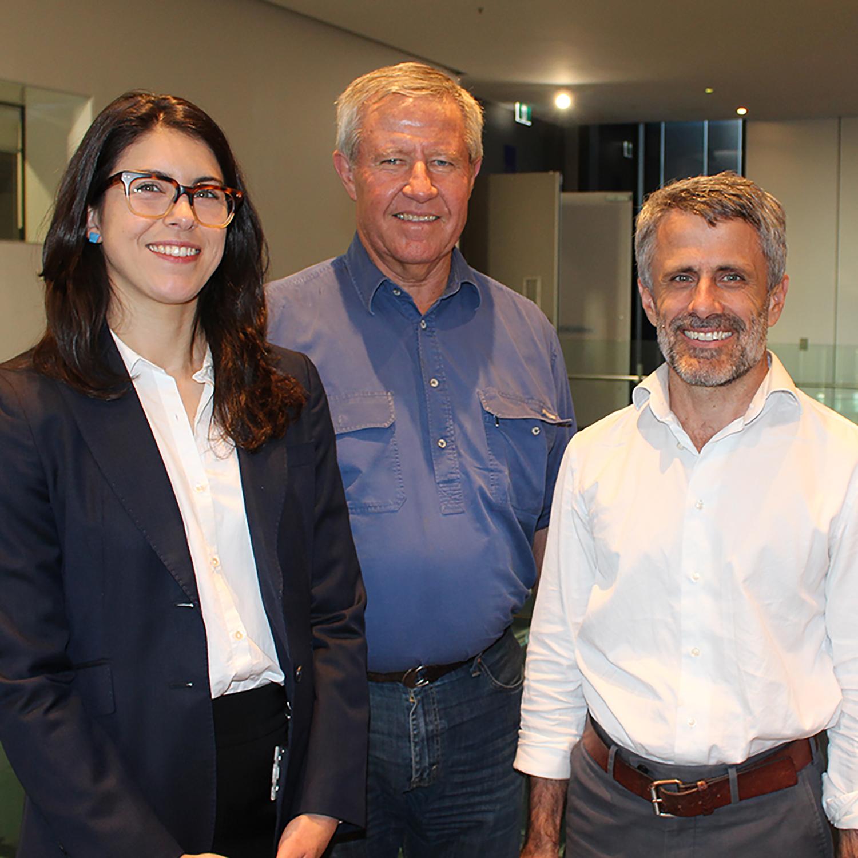 Dr Kirsten Coupland, Professor Neil Spratt and Dr Allan Davies