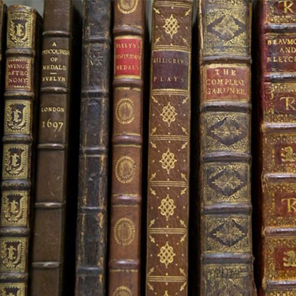 Emmerson collection of books
