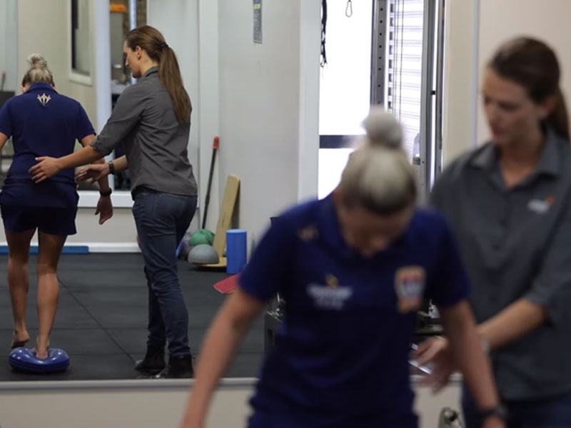 Bachelor of Physiotherapy - Newcastle Jets W-League
