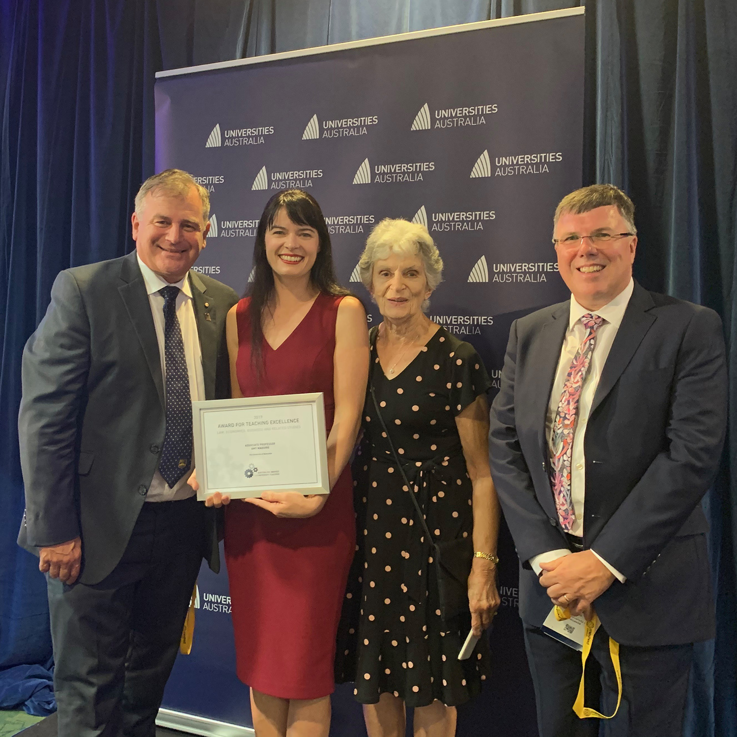 Newcastle educators shine in Australian Awards for University Teachers