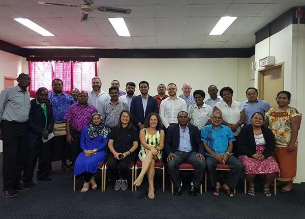 UNDESA coop group in Fiji