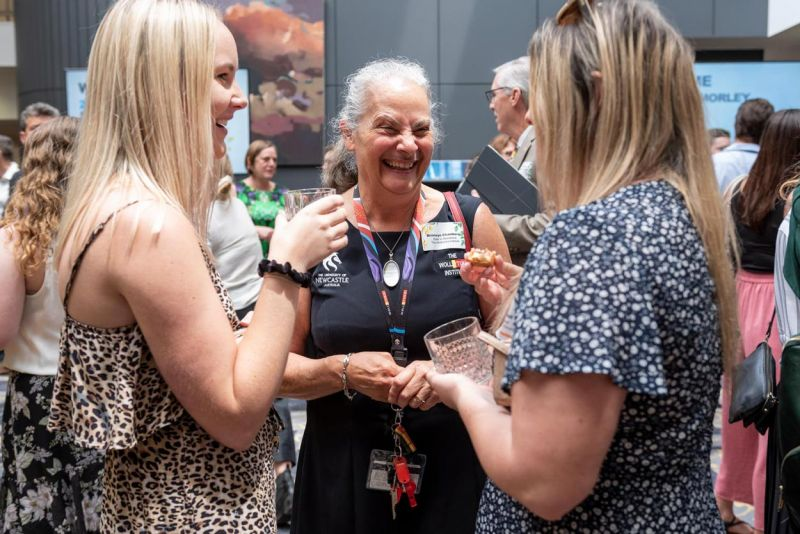 Scholars, staff and friends gather to welcome the 2020 scholars to the University of Newcastle