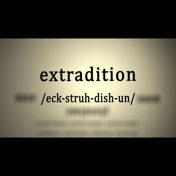 What is extradition and how does it work?