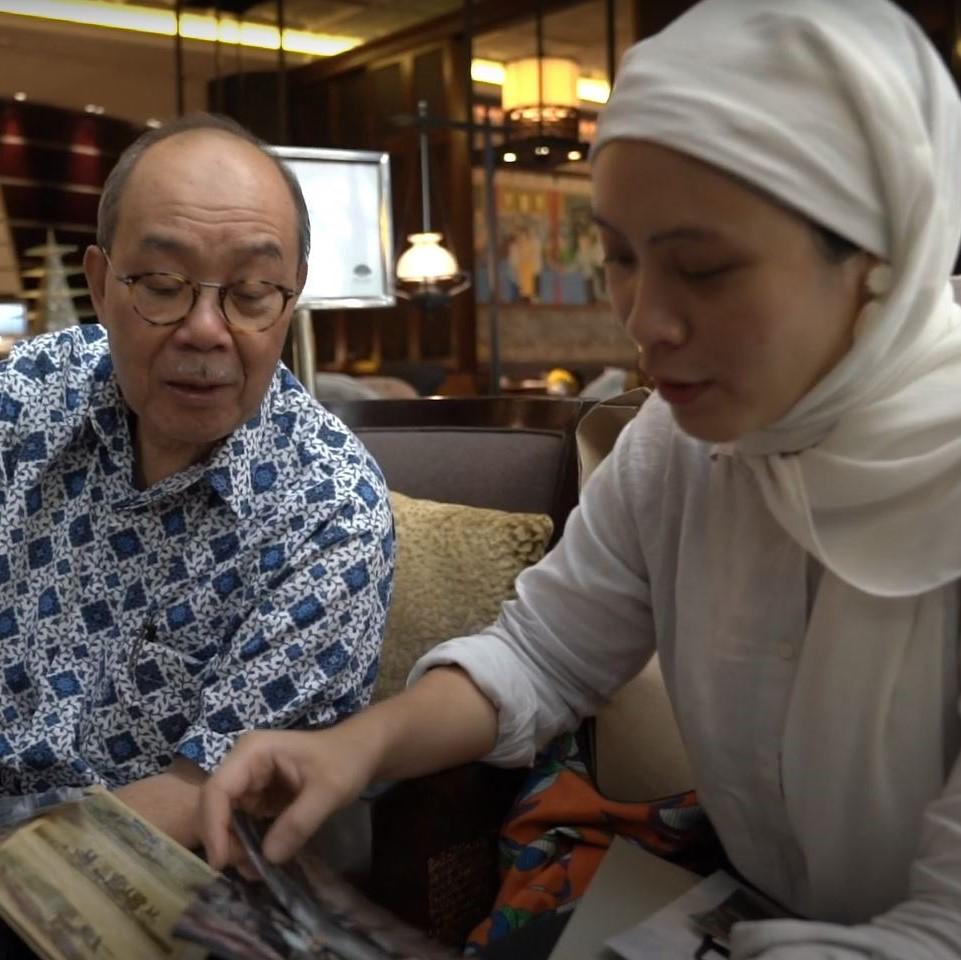 Dato' Ir Dr Abu Bakar Bin Jaafar shares his legacy with daughter Siti Hajar A Bakar