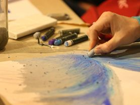 University is adapting fine arts to support its students