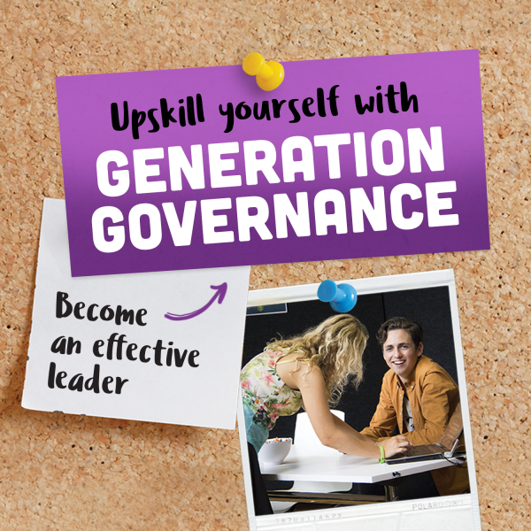 Upskill yourself with Generation Governance - Become an effective leader.