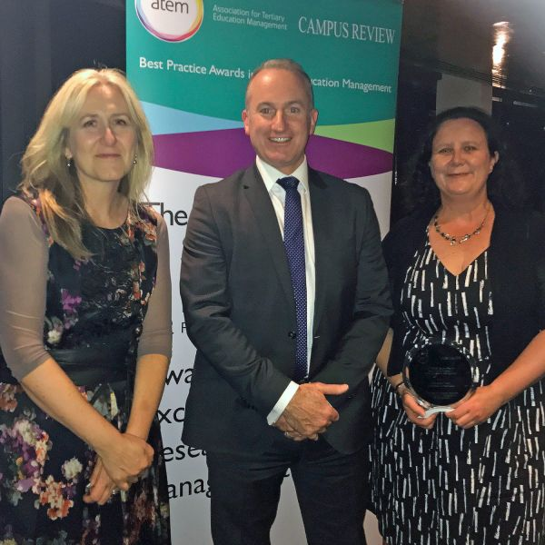 UON Research Grants team awarded for Best Practice