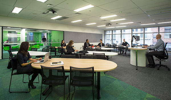 Students study at our purpose-built facility in the heart of the Sydney CBD.