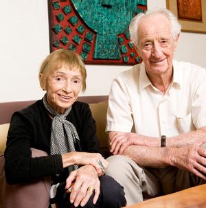 Senta Taft-Hendry with Peter Hendry