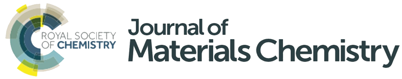 Journal of Materials Chemistry published by Royal Society of Chemistry