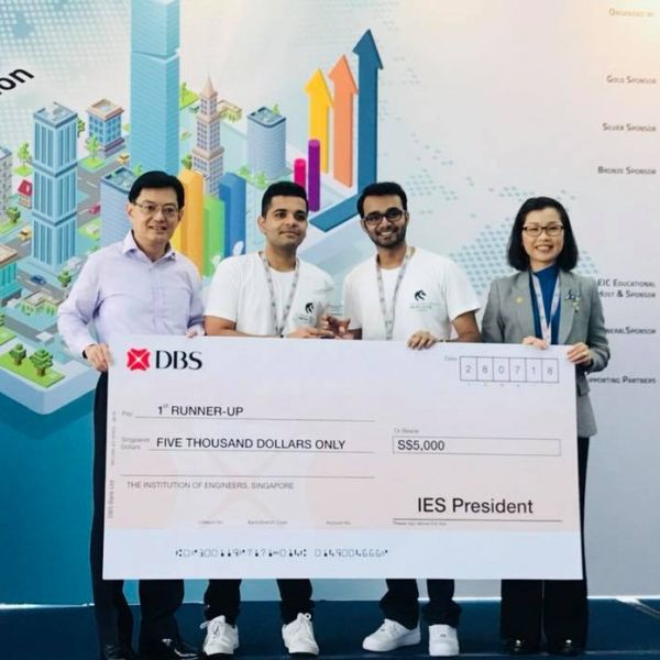 Our Engineering students won 2nd Prize in National Engineers Day (NED) - Energy Innovation Challenge 2018
