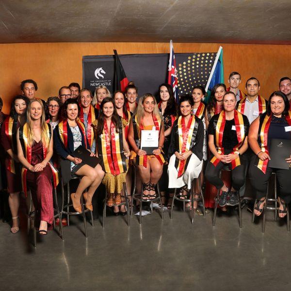 2018 Indigenous student graduates