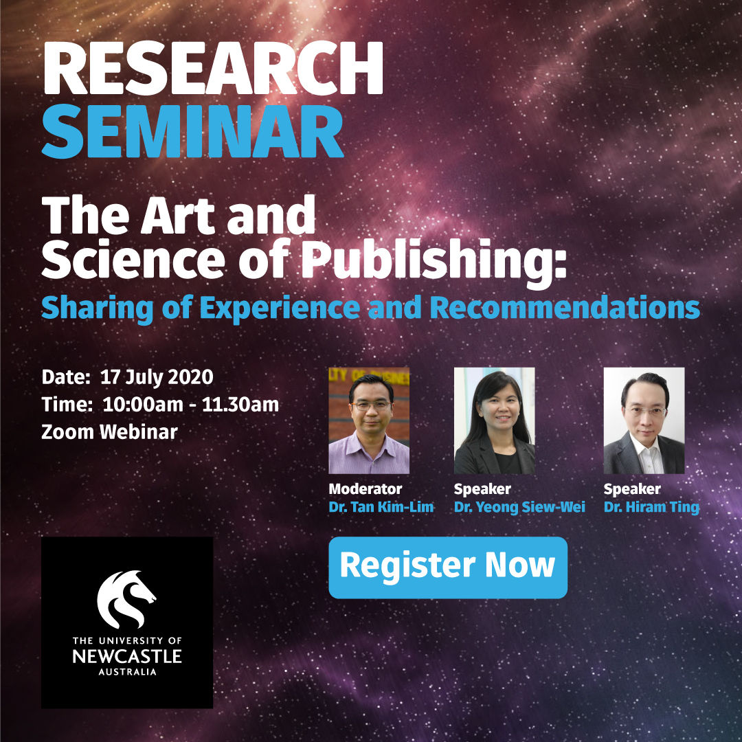 Research Seminar: The Art and Science of Publishing