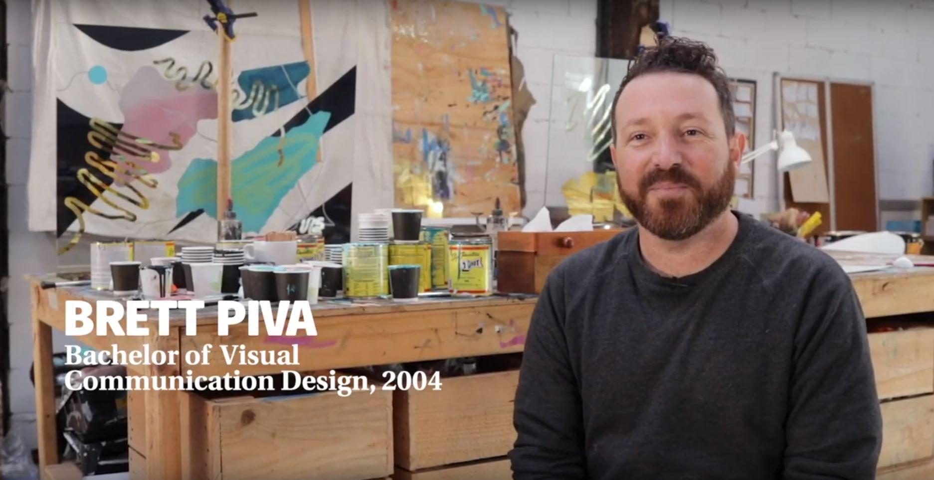 Artist Brett Piva talks the 2019 Alumni Awards