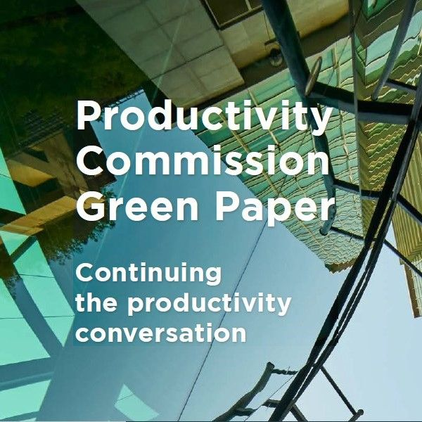 Image for Continuing the Productivity Conversation Green Paper