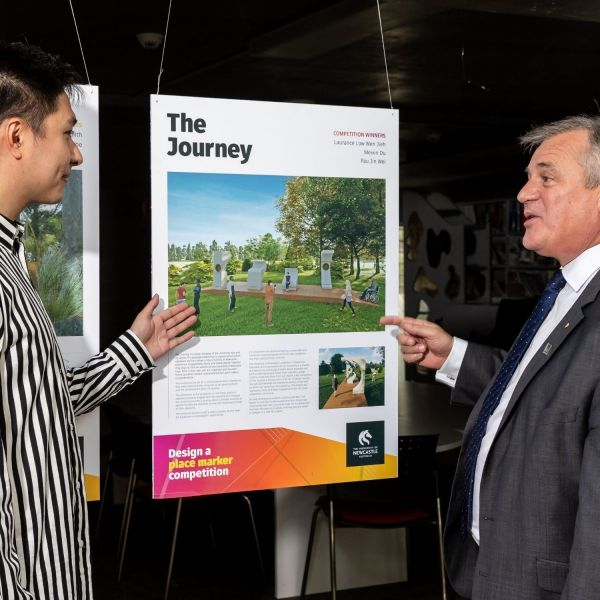 Students given the creative lead to reimagine uni campuses